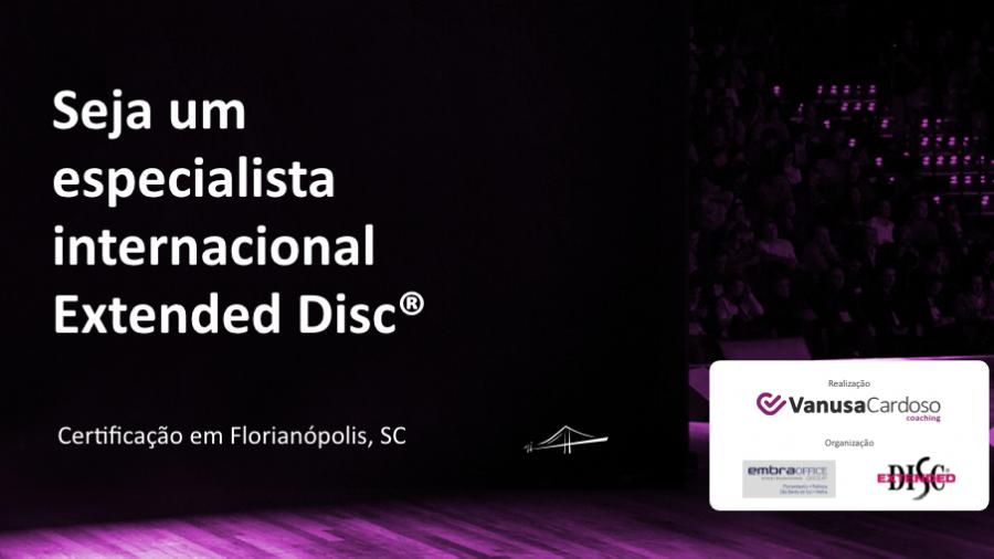 Treinamento de Certificação Extended DISC®
