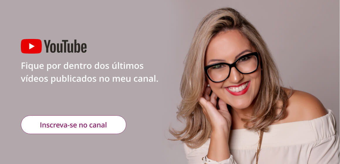 Vanusa Cardoso - Canal Youtube - Coaching em Florianópolis
