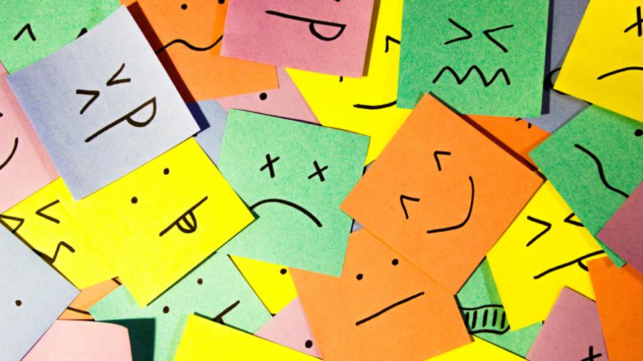 emoções primárias e secundárias